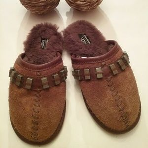 Uggs children's house shoes.